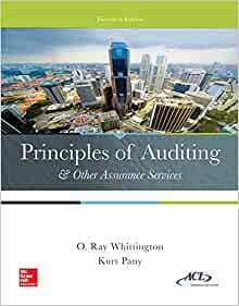 modern auditing and assurance services solutions manual