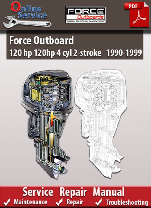 120 hp force outboard service manual