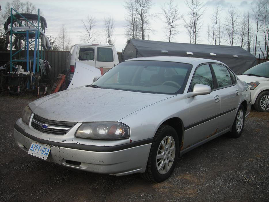 2002 chevy impala parts manual