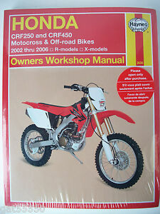 2004 honda cr85 owners manual