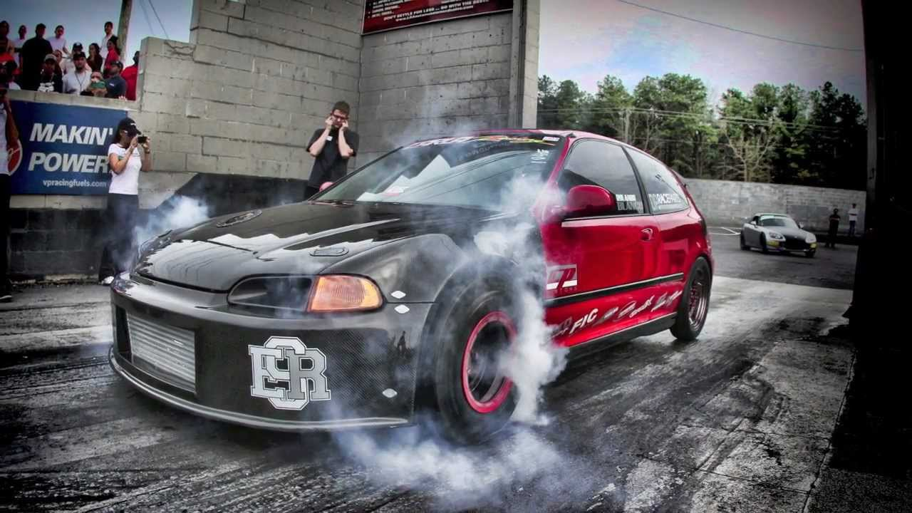 how to burnout in a manual honda civic