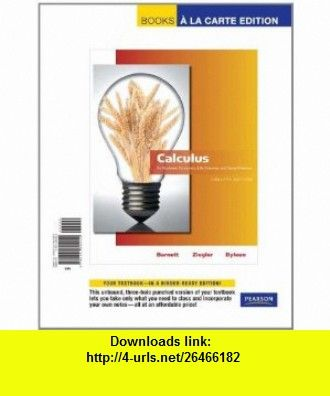 calculus for the life sciences bittinger solutions manual pdf
