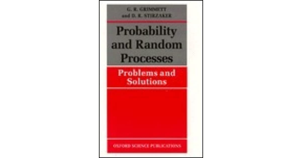 probability and random processes solution manual
