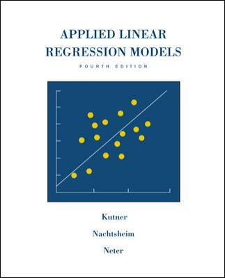 applied linear regression models 4th edition solutions manual