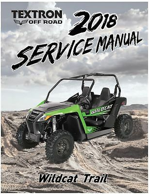 arctic cat wildcat trail parts manual