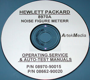 hp 8970b noise figure meter operating manual
