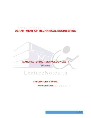 manufacturing processes solution manual pdf free download