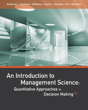 introduction to management science solutions manual taylor