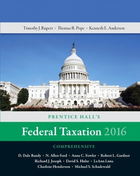 prentice hall federal taxation 2016 solutions manual