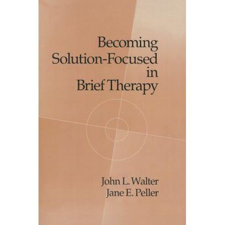 solution focused brief therapy manual